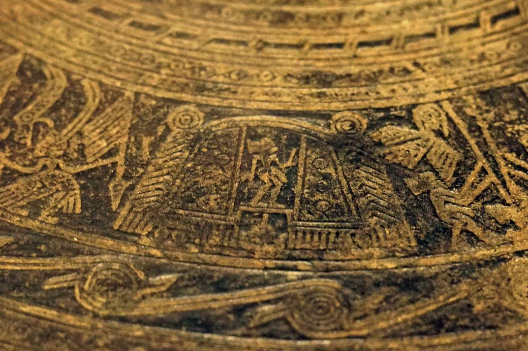 Trống đồng Hoàng Hạ – một dấu ấn văn hóa Đông Sơn ở Hà Nội Trong-dongp-Hoang-Ha-05