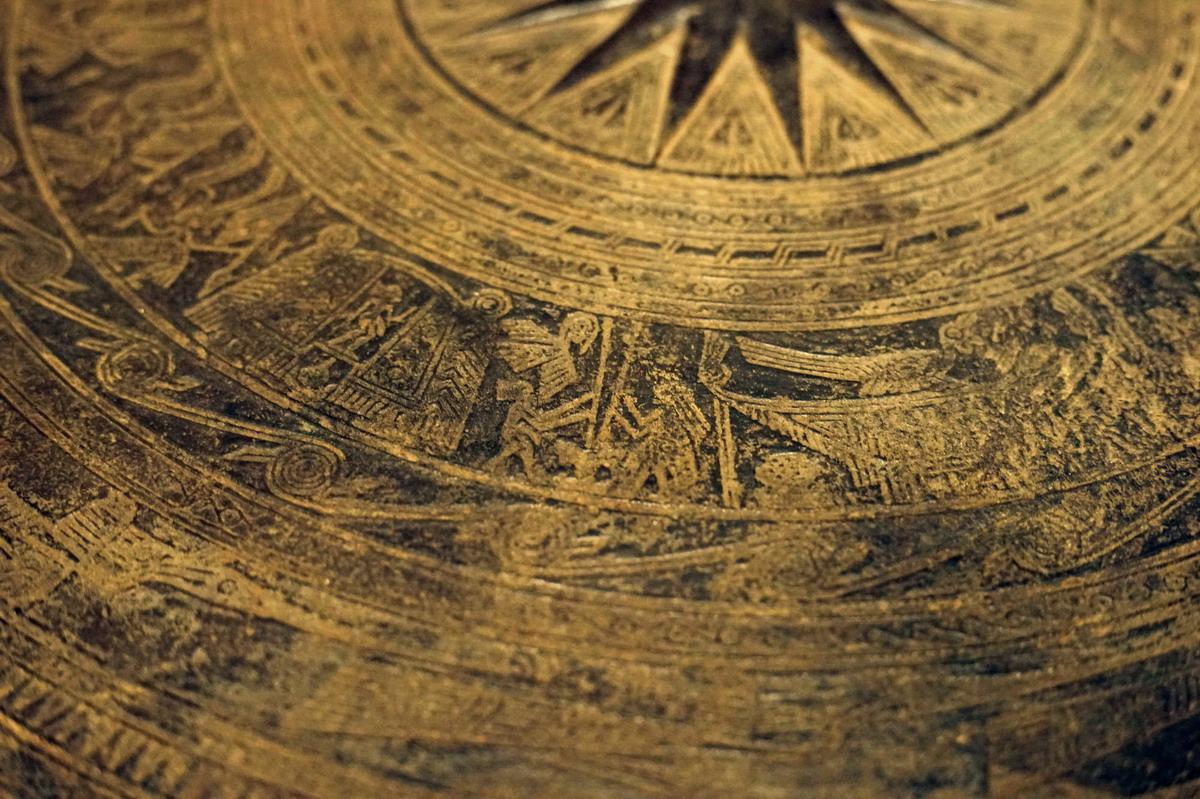Trống đồng Hoàng Hạ – một dấu ấn văn hóa Đông Sơn ở Hà Nội Trong-dongp-Hoang-Ha-08