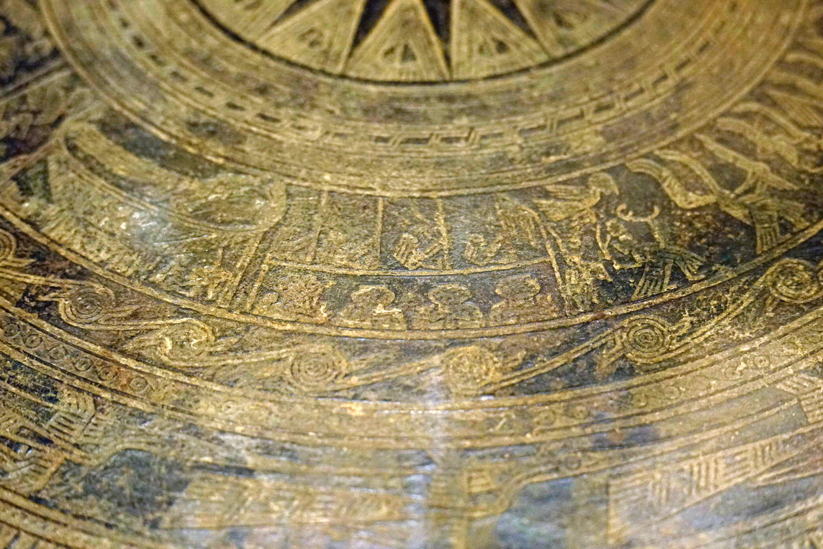 Trống đồng Hoàng Hạ – một dấu ấn văn hóa Đông Sơn ở Hà Nội Trong-dongp-Hoang-Ha-10