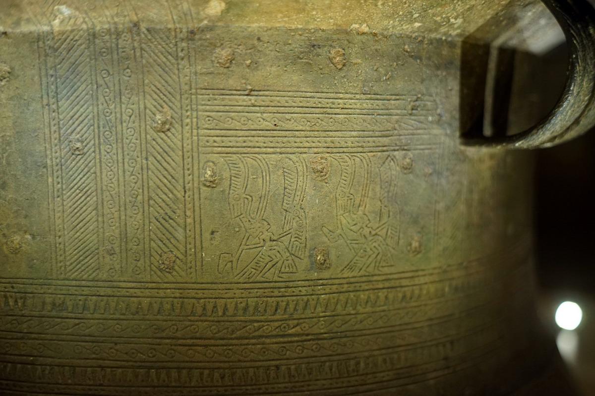 Trống đồng Hoàng Hạ – một dấu ấn văn hóa Đông Sơn ở Hà Nội Trong-dongp-Hoang-Ha-15