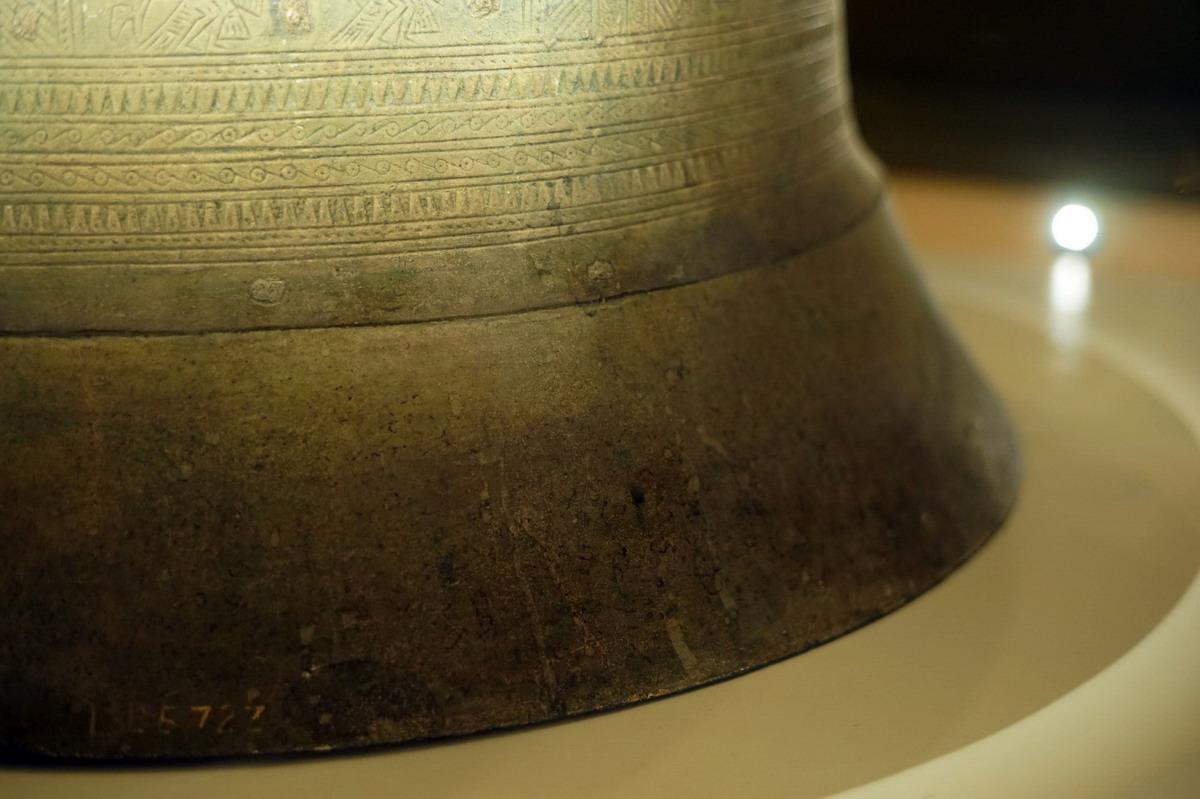 Trống đồng Hoàng Hạ – một dấu ấn văn hóa Đông Sơn ở Hà Nội Trong-dongp-Hoang-Ha-17