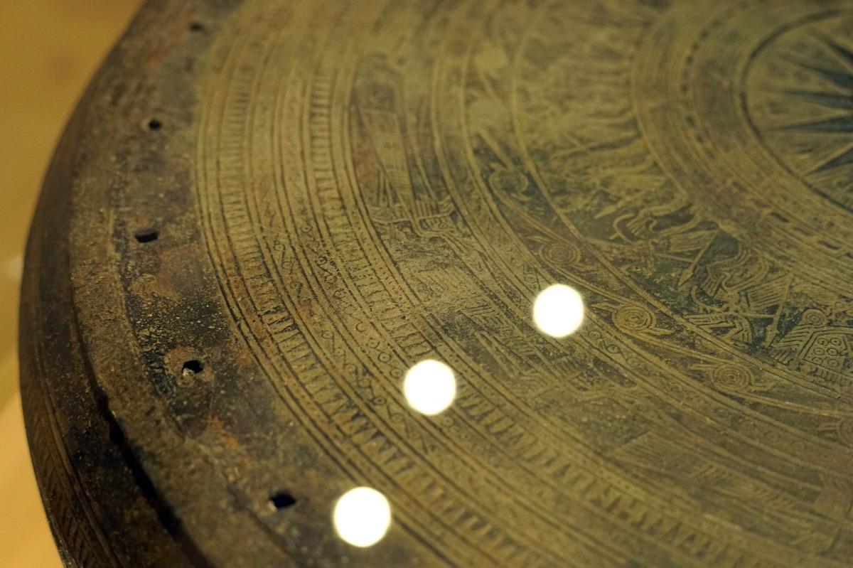 Trống đồng Hoàng Hạ – một dấu ấn văn hóa Đông Sơn ở Hà Nội Trong-dongp-Hoang-Ha-19