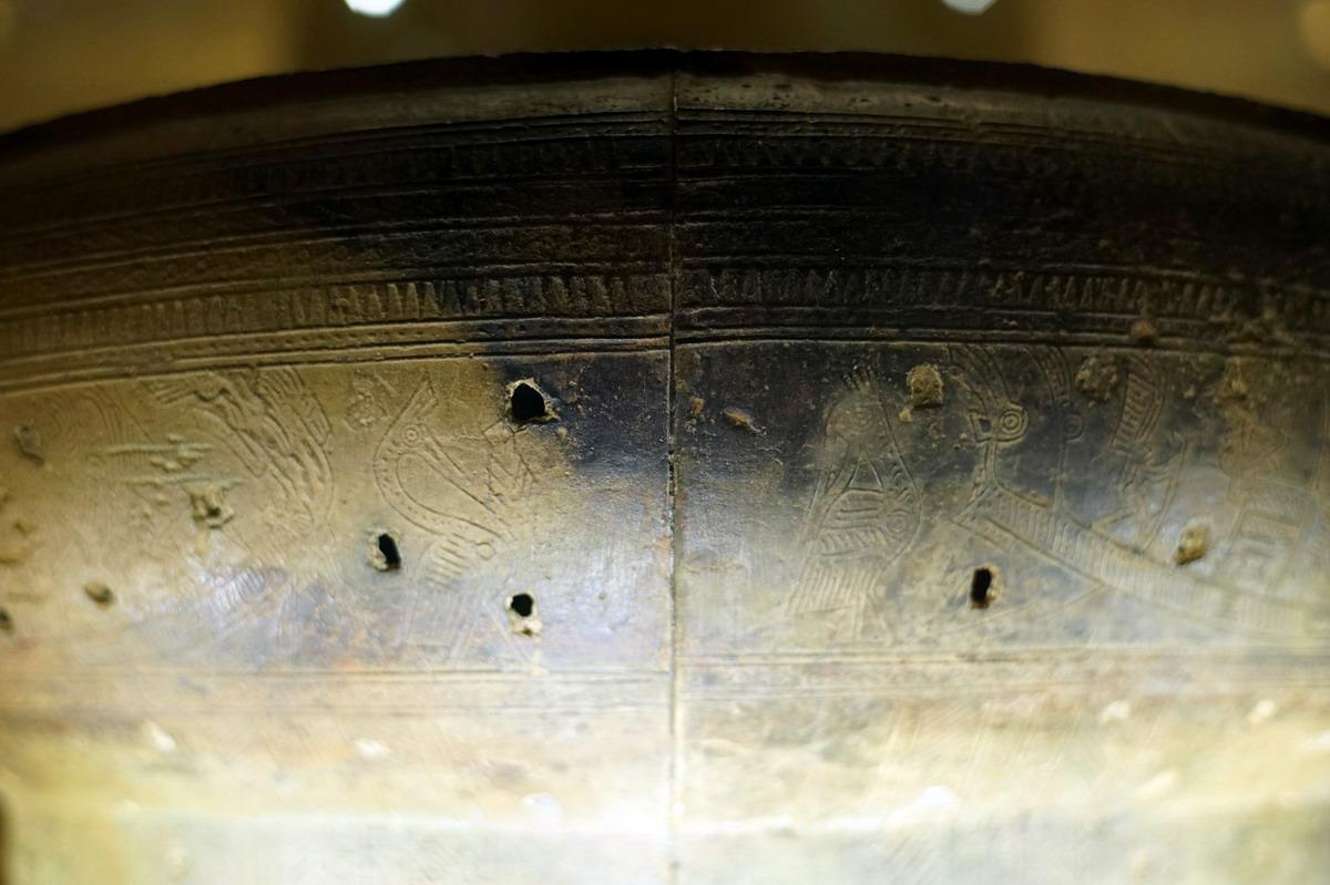 Trống đồng Hoàng Hạ – một dấu ấn văn hóa Đông Sơn ở Hà Nội Trong-dongp-Hoang-Ha-20