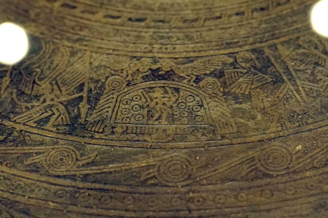 Trống đồng Hoàng Hạ – một dấu ấn văn hóa Đông Sơn ở Hà Nội Trong-dongp-Hoang-Ha-21