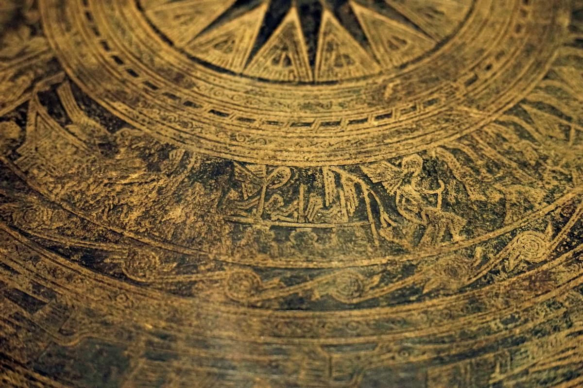Trống đồng Hoàng Hạ – một dấu ấn văn hóa Đông Sơn ở Hà Nội Trong-dongp-Hoang-Ha-22
