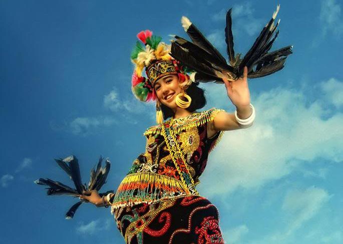 Chùm ảnh: Dayak – tộc người rất giống người Việt cổ trên đảo Borneo