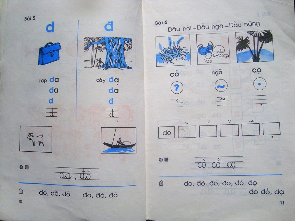Sách Tiếng Việt 1 - tấm vé tuổi thơ