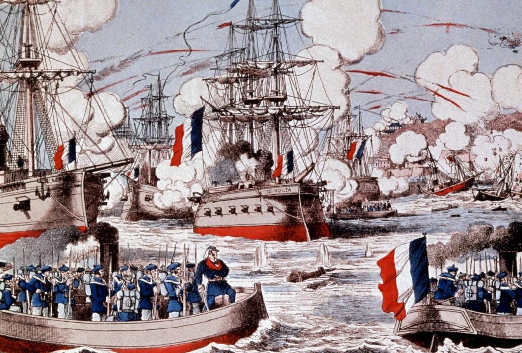 Hạm đội hùng mạnh của nhà Thanh bị hải quân Pháp 'bắt nạt' như thế nào?