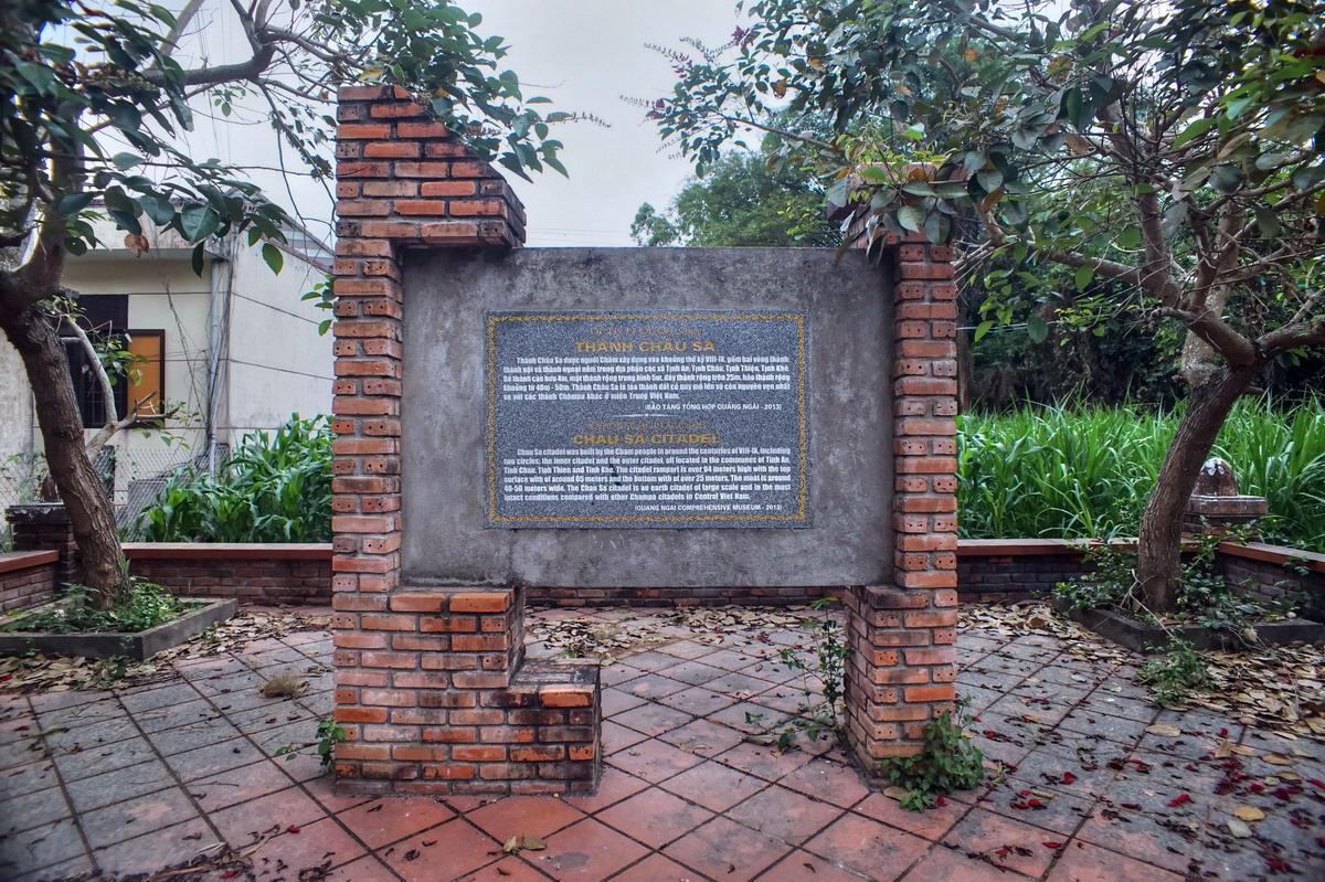 Chùm ảnh: Thành Châu Sa – tòa thành cổ 'nguyên vẹn' nhất của vương quốc Champa