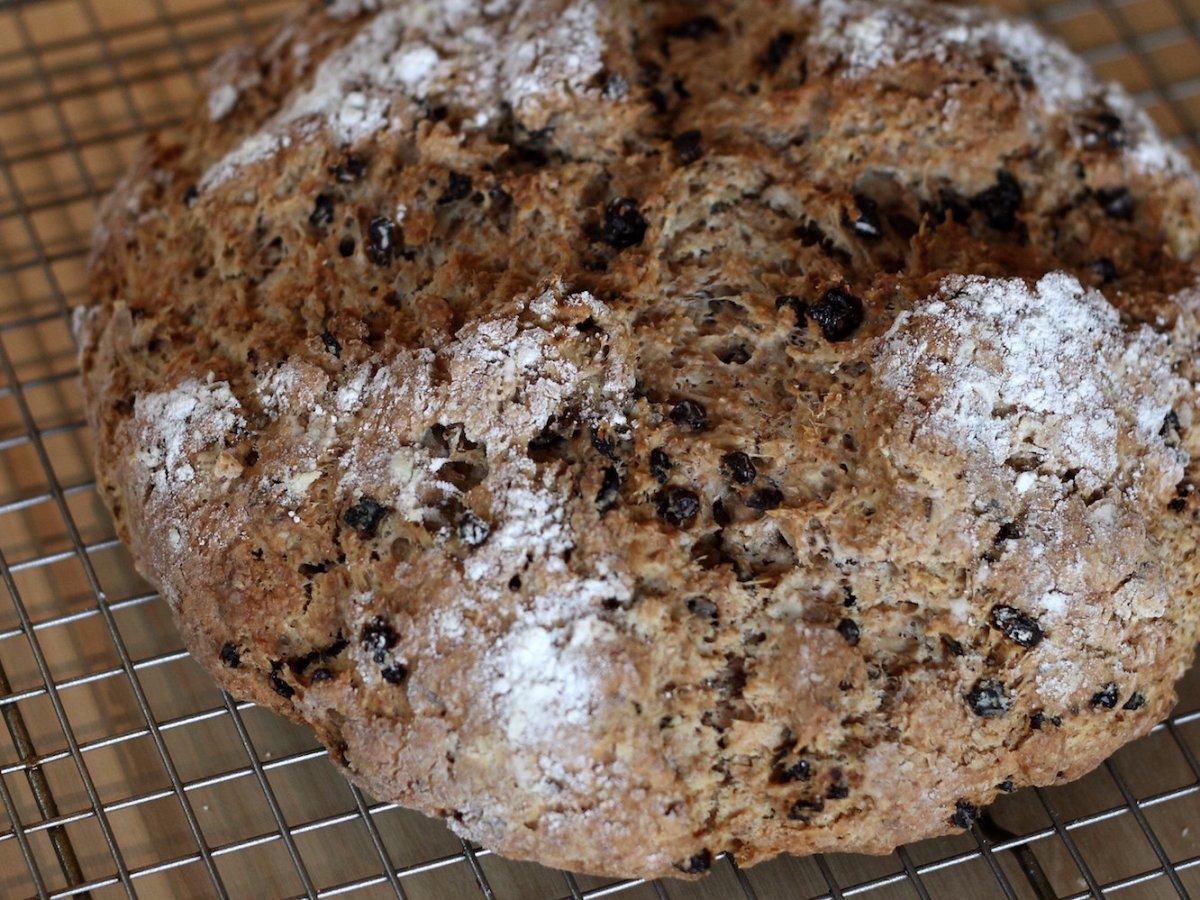 Ireland: buttered bread