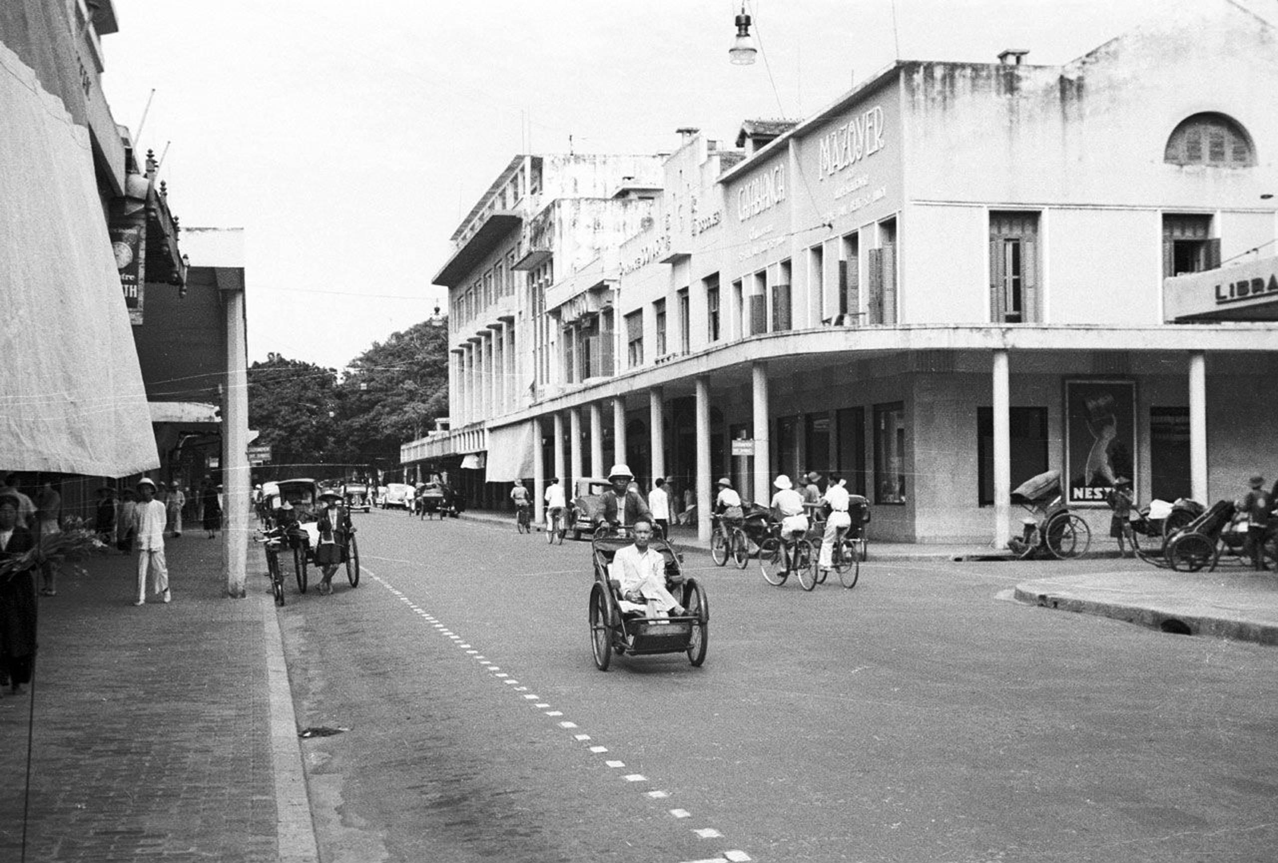 Chùm ảnh: Phố Paul Bert năm 1940 – khu phố hào nhoáng nhất Hà Nội