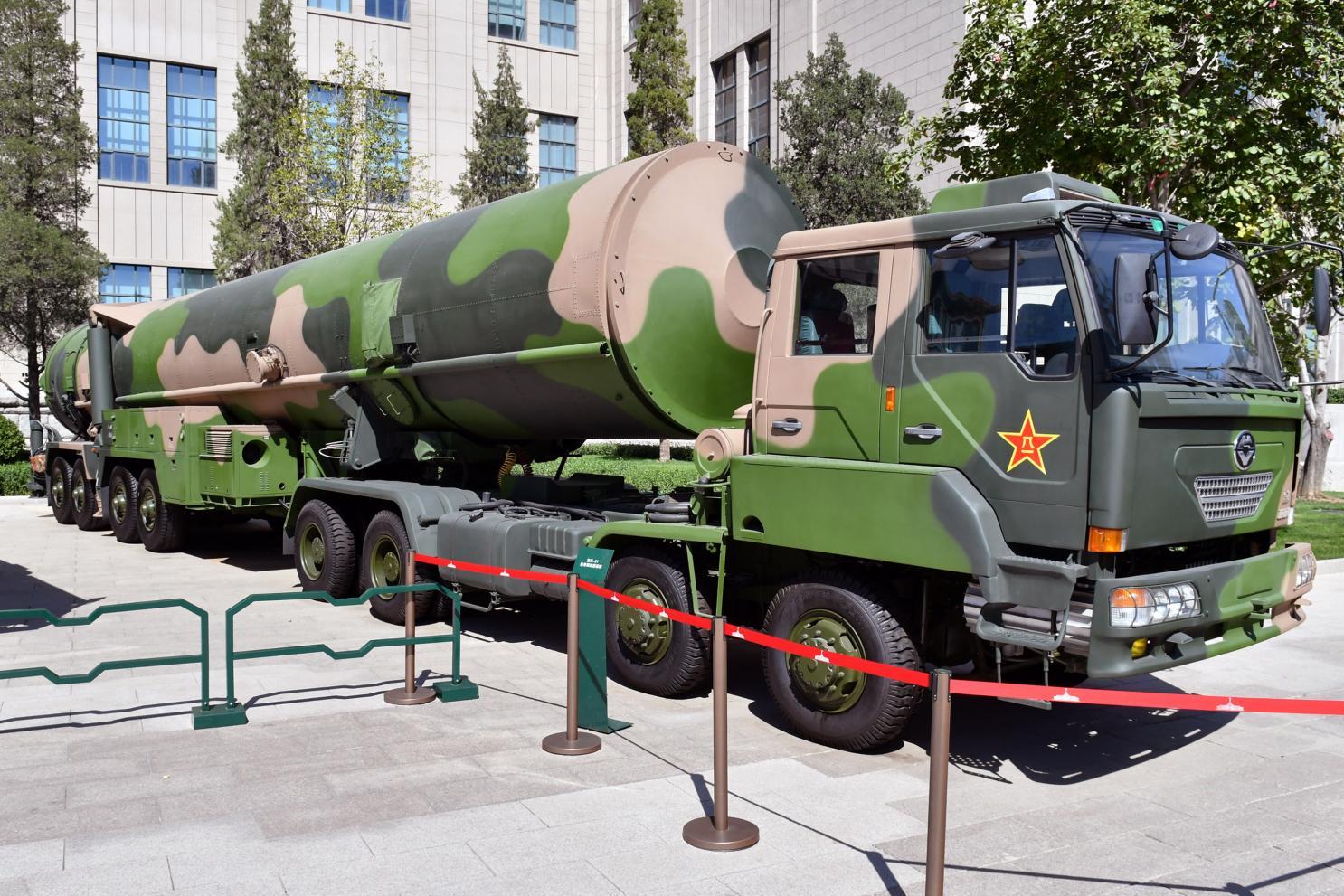 Trung Quốc ở đâu trong bản đồ vũ khí hạt nhân thế giới?