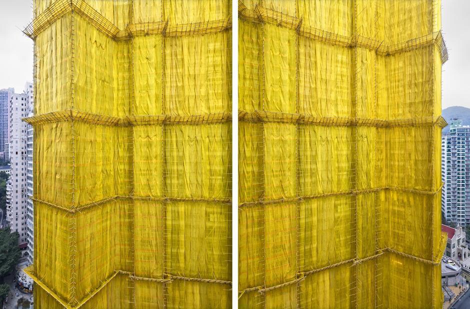 [Ảnh] Ấn tượng với cách người Hồng Kông xây dựng những tòa nhà chọc trời chỉ với giàn giáo bằng tre - Ảnh 5.