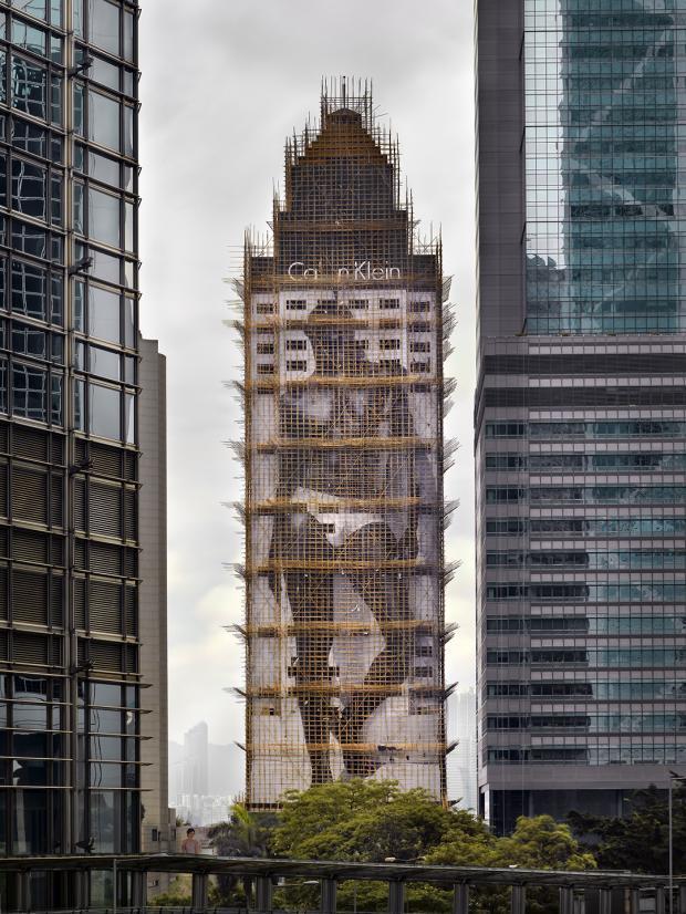 [Ảnh] Ấn tượng với cách người Hồng Kông xây dựng những tòa nhà chọc trời chỉ với giàn giáo bằng tre - Ảnh 3.