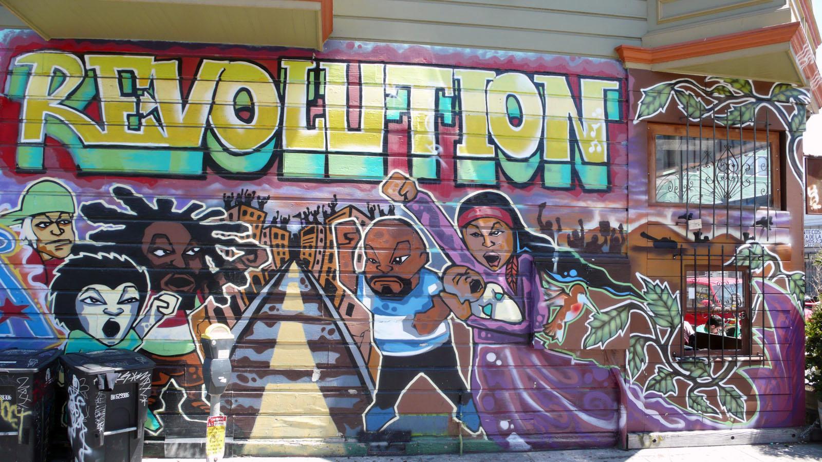 Graffiti – nghệ thuật của sự nổi loạn