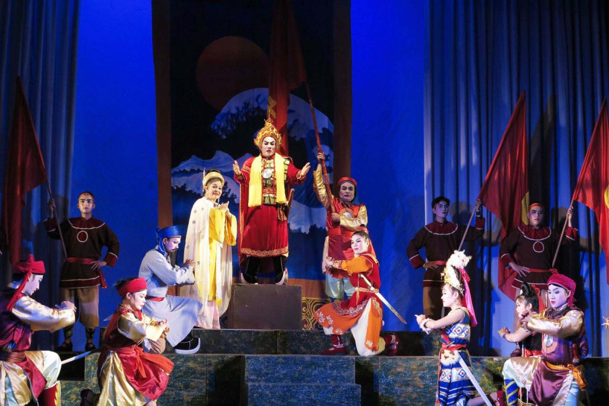 Nghệ thuật sân khấu trong tư cách một hệ thống văn hoá