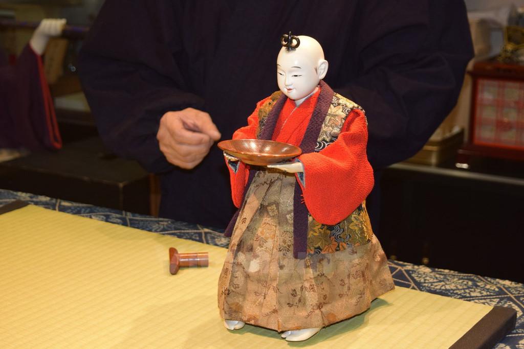 Chùm ảnh: Karakuri – 'robot' bằng gỗ trăm tuổi của Nhật Bản