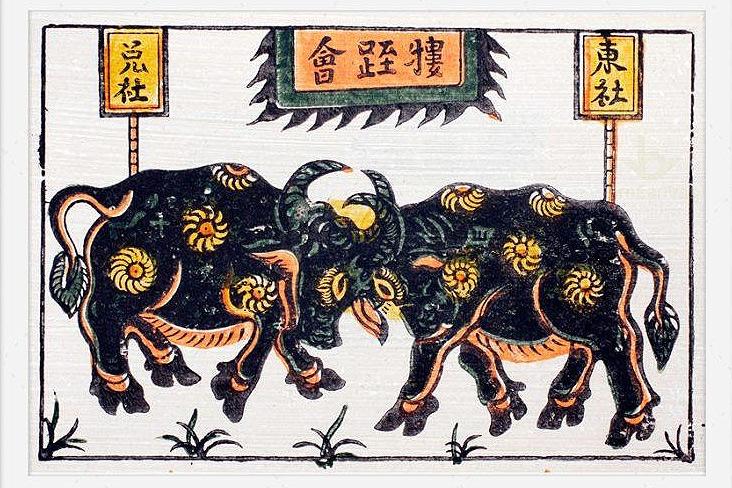 Khám phá thú chơi tranh Tết của người Việt xưa
