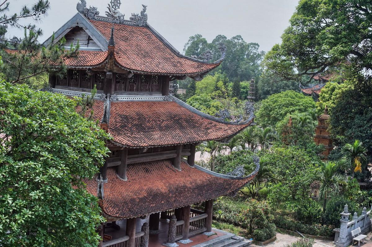 Chùm ảnh: Chùa Nôm – ngôi chùa mang vẻ đẹp trường tồn cùng thời gian