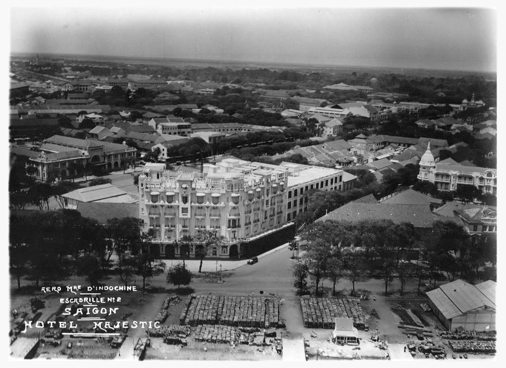 40 hình ảnh quý giá về Đông Dương thập niên 1930 nhìn từ máy bay