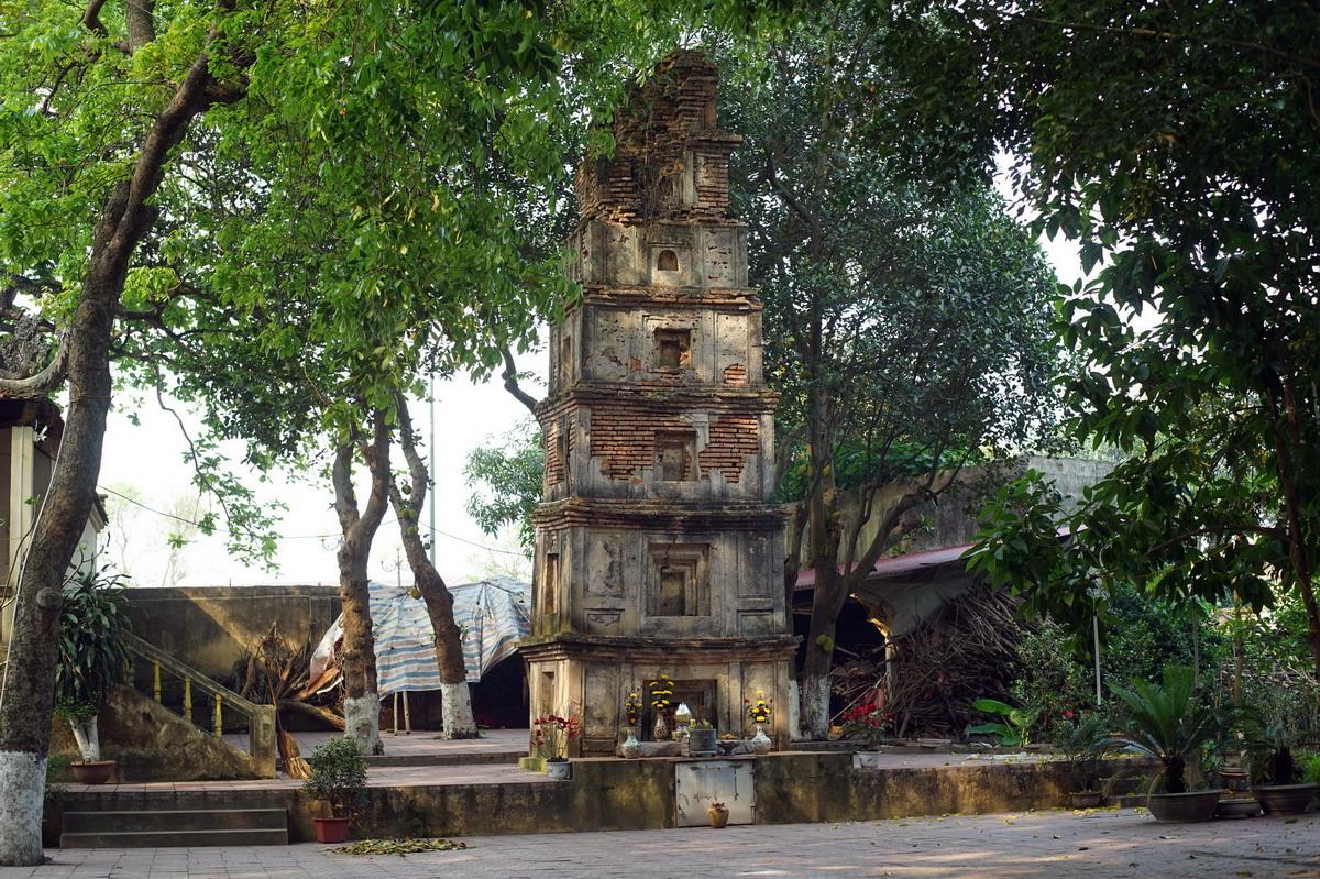 Chùm ảnh: Tháp Cói – vẻ điêu tàn của tòa bảo tháp 7 tầng thời Hậu Lê