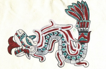aztec plumed_serpent 1