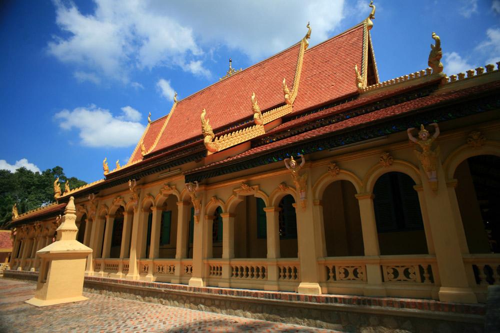 Chùm ảnh: Chùa Âng – kiệt tác chùa Khmer nghìn tuổi ở Trà Vinh