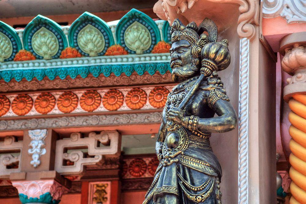 Chùm ảnh: Chùa Tây An – ngôi chùa có kiến trúc kỳ lạ ở An Giang