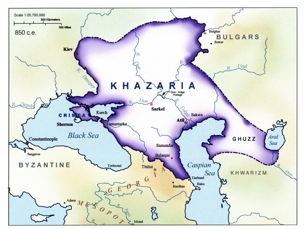 Sự thật về dân tộc Do Thái: Do Thái Israel và Do Thái Khazaria