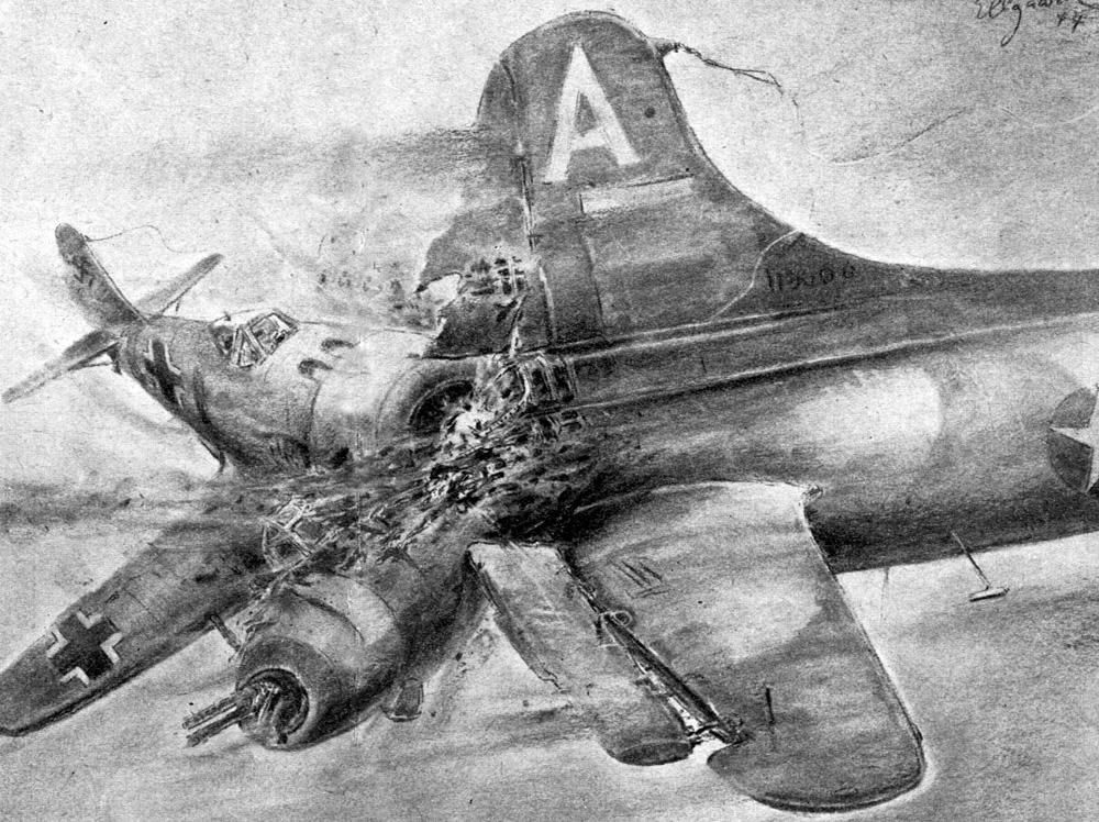 Sonderkommando Elbe – phi đội máy bay cảm tử của Phát xít Đức