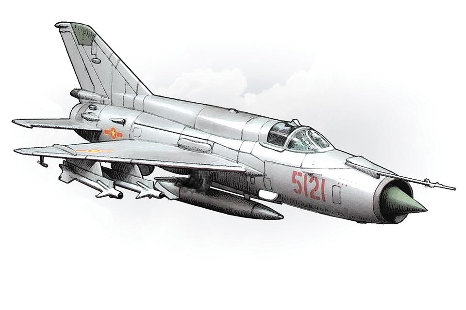 Tiêm kích MiG 21 – thanh gươm báu, huyền thoại bầu trời