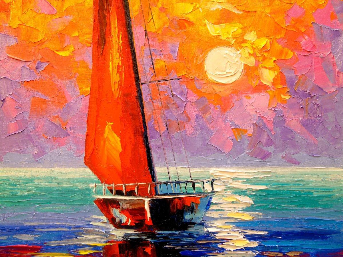 Cánh buồm đỏ thắm – câu chuyện cổ tích giữa đời thường