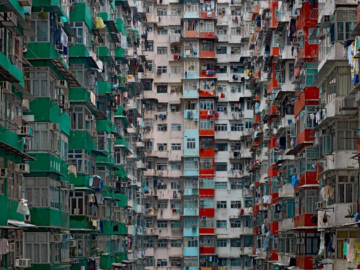 Chùm ảnh: Chung cư 'tổ ong' ở Hồng Kông qua ống kính Michael Wolf,