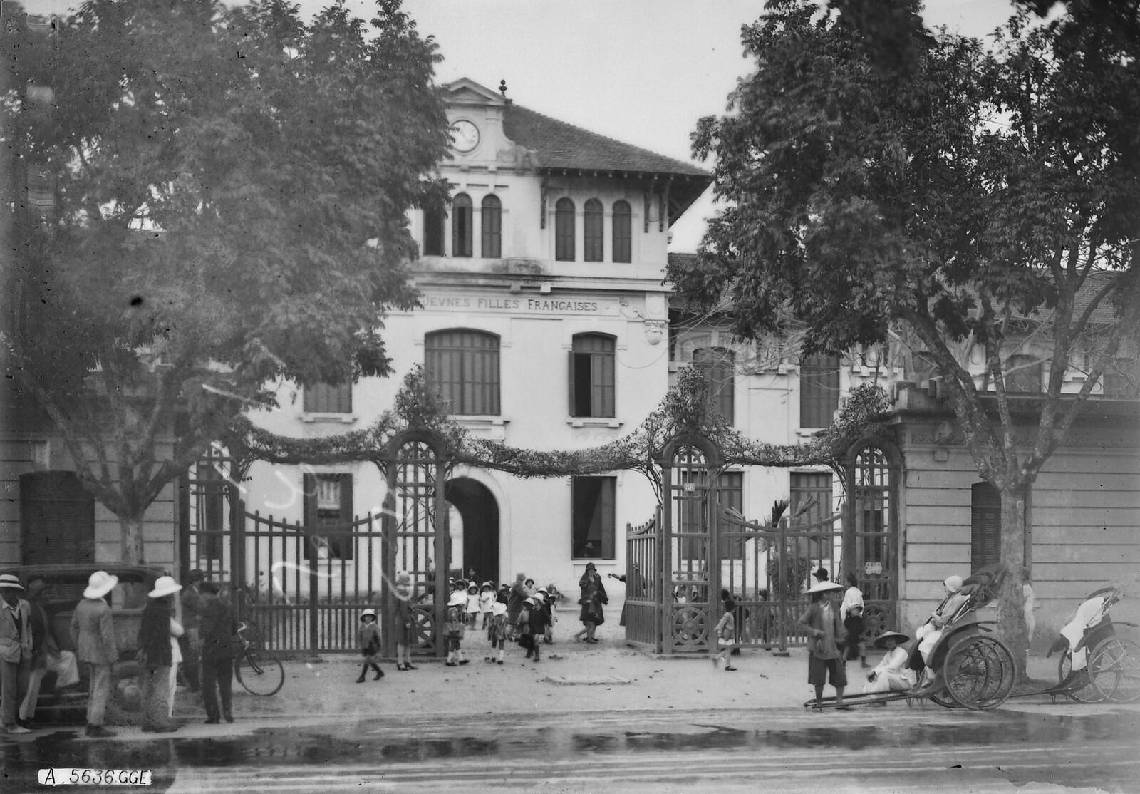 Chùm ảnh: Ngôi trường của các tiểu thư Pháp ở Hà Nội xưa