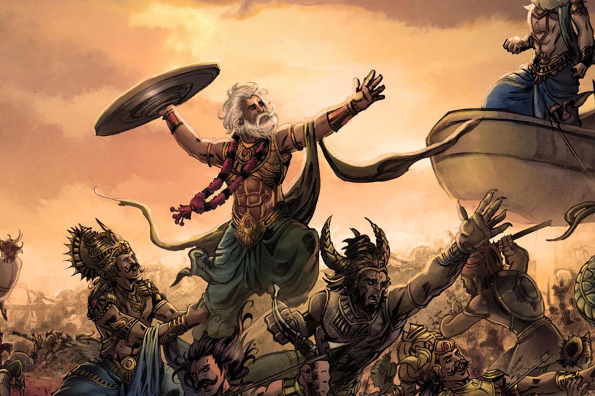 Nghệ thuật miêu tả cái chết trong sử thi Mahabharata