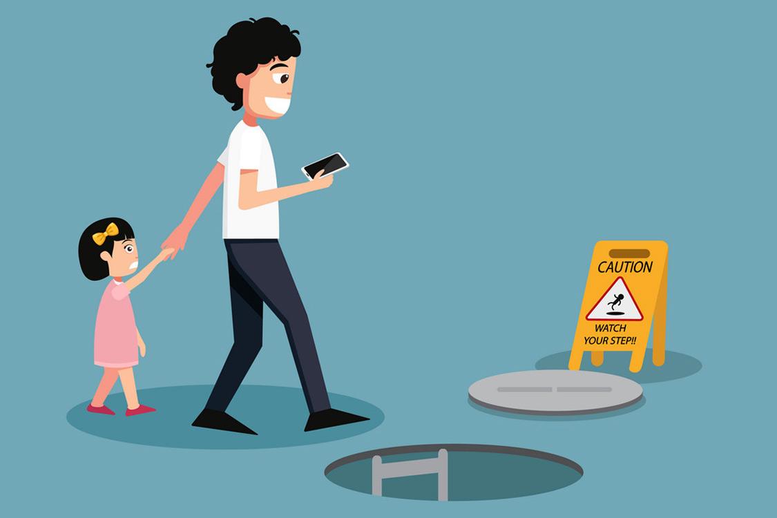 Đừng phá hủy tuổi thơ của con cái bằng chiếc smartphone