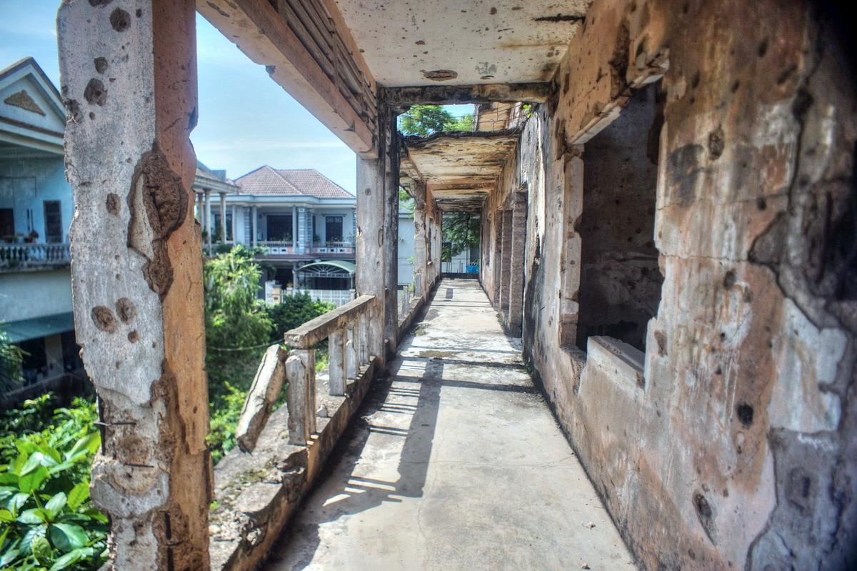 Chùm ảnh: Trường Bồ Đề – tàn tích khủng khiếp của chiến tranh ở Quảng Trị