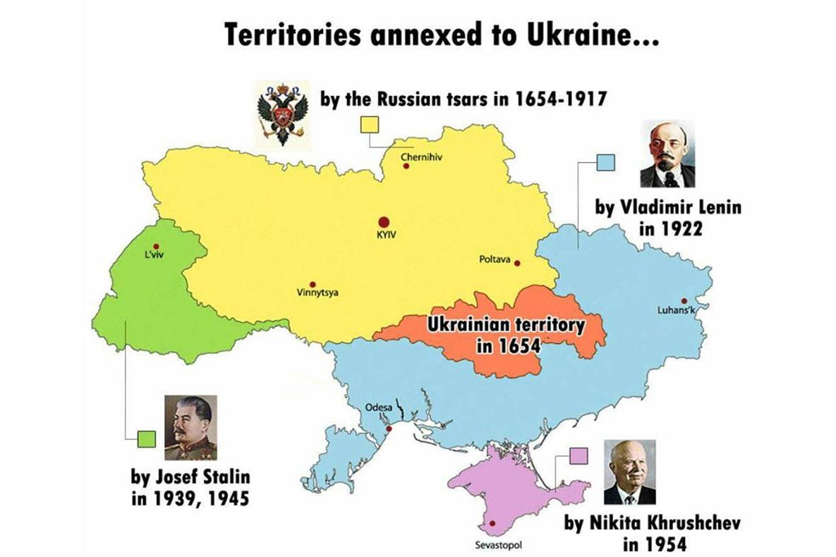 Định mệnh chia cắt của Ukraina – một quốc gia chắp vá