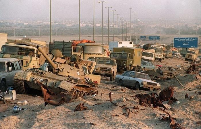 """""""Vụ thảm sát các binh sỹ Iraq đang rút lui đã vi phạm Điều III Công ước Geneva năm 1949: cấm giết hại những người lính đã rời khỏi cuộc chiến"""", Joyce Chediac."""
