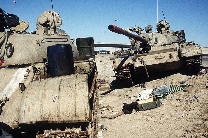 Xe tăng trở thành hầm mộ khủng khiếp của rất nhiều người lính bên trong