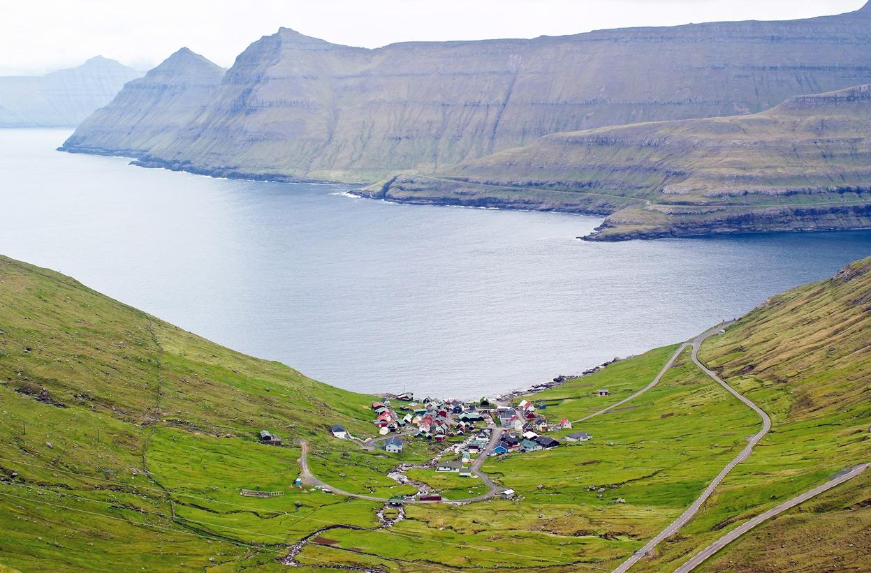 Chùm ảnh: Vẻ đẹp thanh bình của quần đảo Faroe