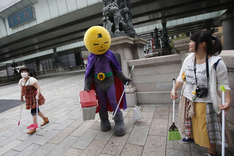 Vài nét về ý thức giữ vệ sinh môi trường của người Nhật Bản