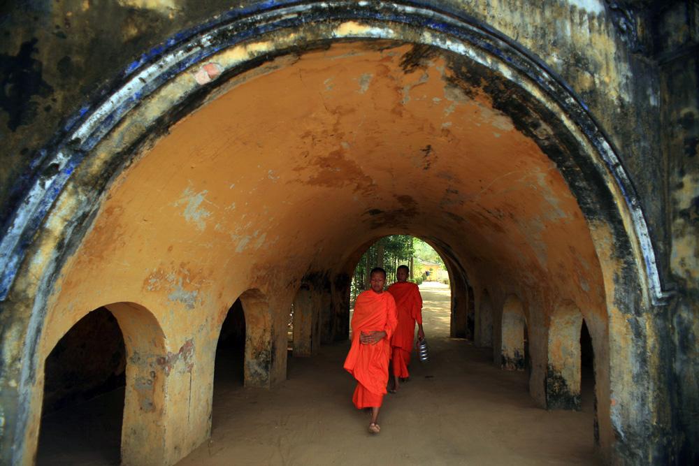 Chùm ảnh: Khám phá chùa Hang độc đáo của người Khmer Nam Bộ