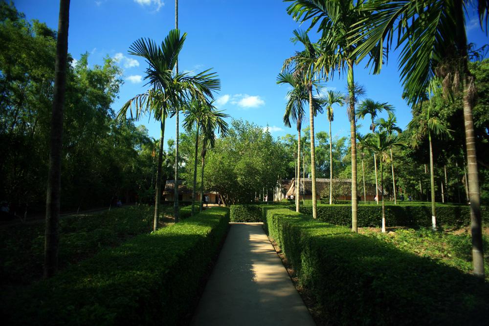 Chùm ảnh: Làng Hoàng Trù và làng Sen – nơi quê nhà thân thương của Bác Hồ