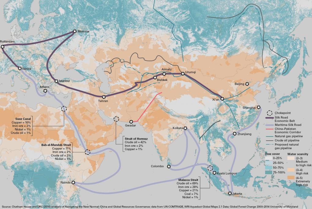 'Vành đai và Con đường' nhìn từ Washington, Moskva và Bắc Kinh