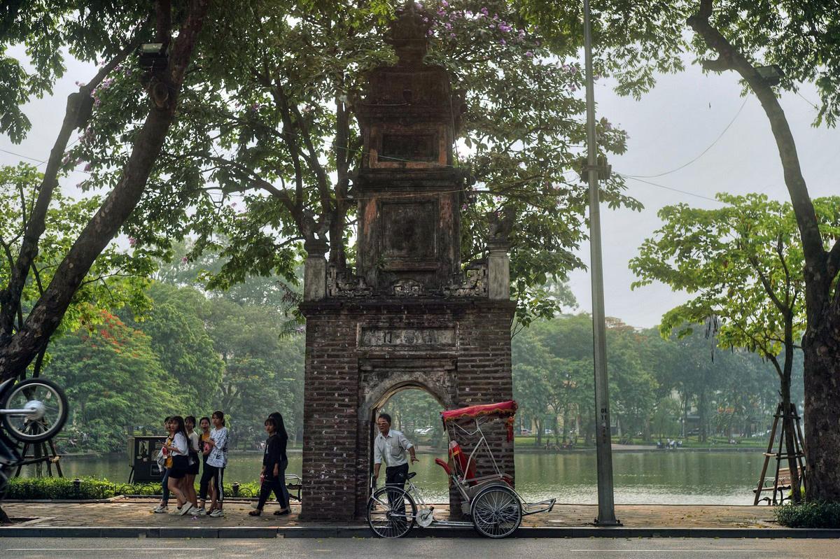 Chùm ảnh: Tháp Hòa Phong – tòa tháp cổ có lịch sử đặc biệt của Hà Nội
