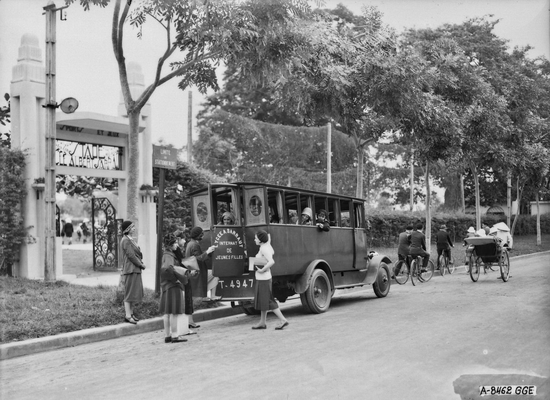 Chùm ảnh: Trường Trung học Albert Sarraut ở Hà Nội đầu thế kỷ 20