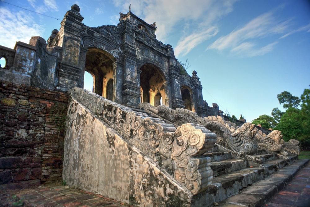 Chùm ảnh: Khám phá tàn tích của Văn miếu ở Huế