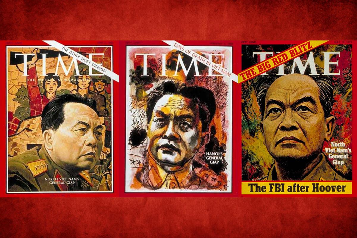 Tướng Giáp và ba bức chân dung trên bìa tạp chí Time