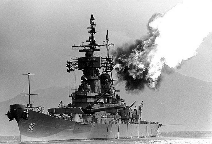 Cuộc đấu của pháo binh Việt Nam với Hải quân Mỹ